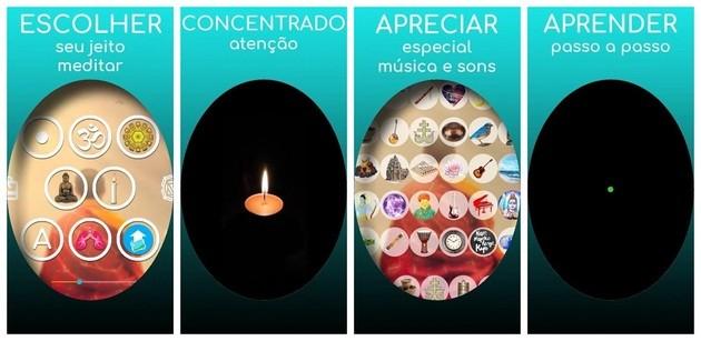 App de mindfulness Meditação + Concentração