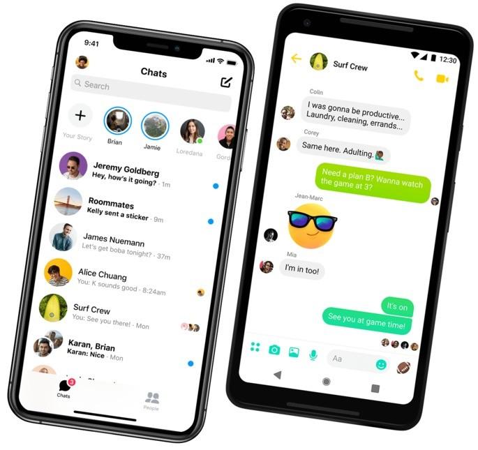 Messenger apps de bate-papo