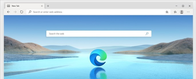 Imagem de divulgação do navegador Microsoft Edge