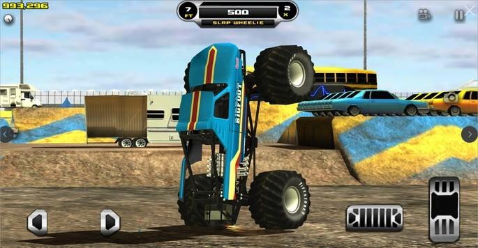 Imagem de divulgação do jogo de corrida para PC Monster Truck Destruction