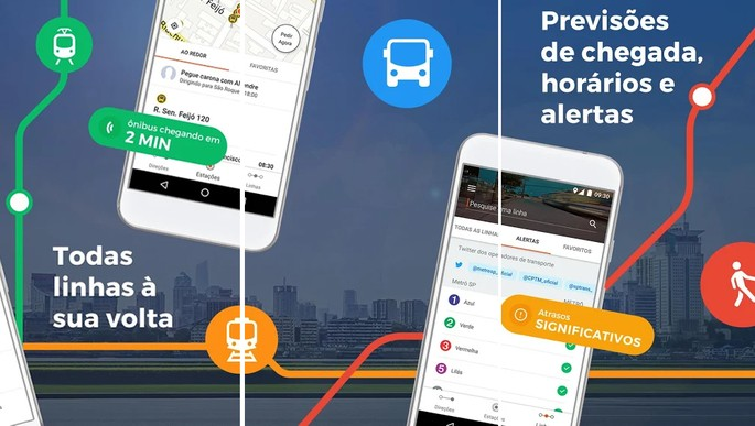 Apps ônibus Moovit