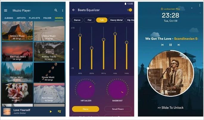 Imagem de divulgação do app Music Player - Player MP3