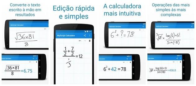Calculadora MyScript Calculator