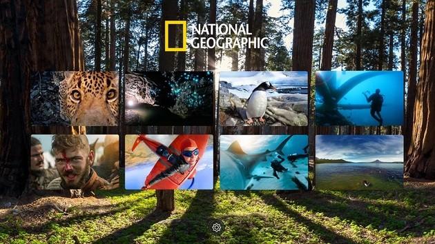 Realidade virtal com o National Geographic VR