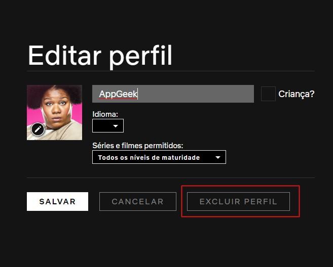 Como criar, editar e excluir um perfil da netflix