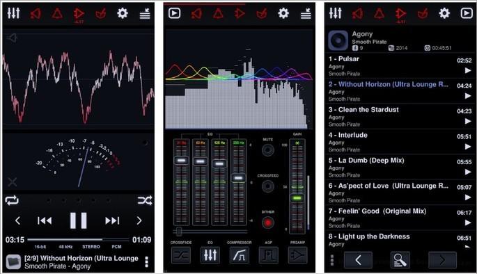Imagem de divulgação do player de música Neutron Music Player