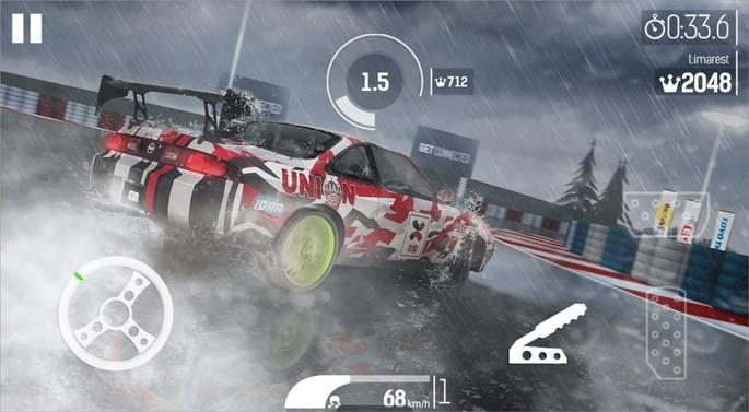 Imagem de divulgação do jogo de corrida Nitro Nation Drag & Drift