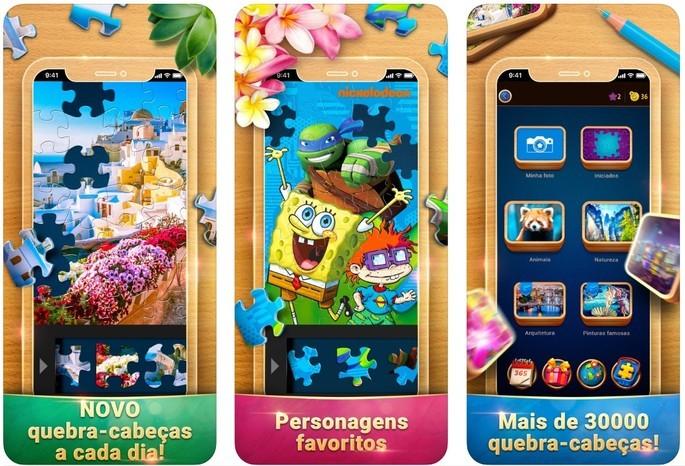 imagem de divulgação do app O Quebra-Cabeça Mágico