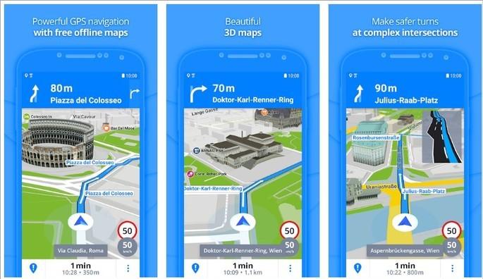 Imagem de divulgação do app Offline GPS
