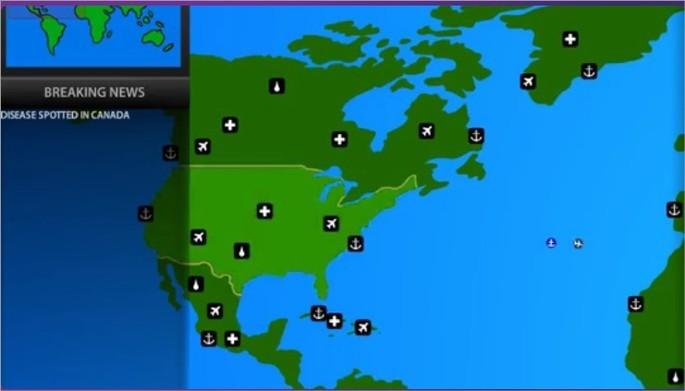 Imagem de divulgação do jogo Pandemic 2