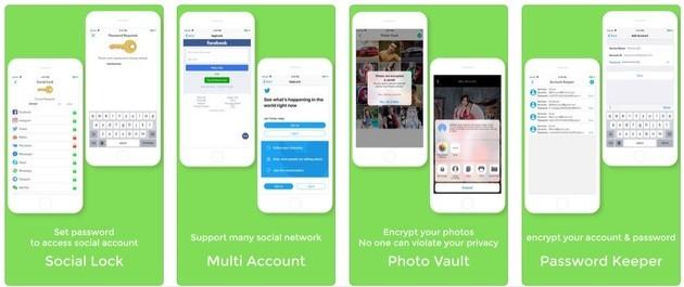 Colocar senha em aplicativos no iPhone com o Parallel Space