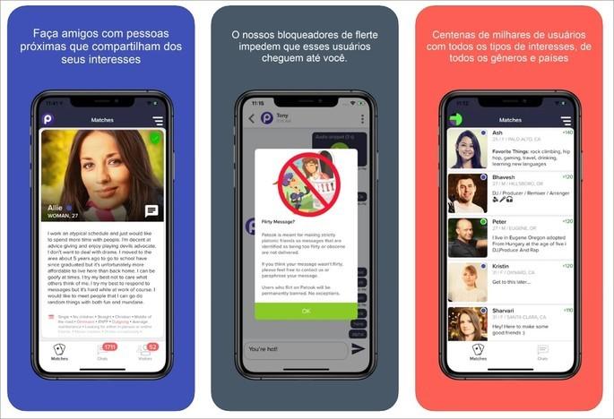 Patook, app para fazer apenas amizade. Paqueras são banidas