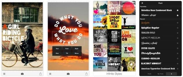 10 Apps Para Escrever Em Fotos Cheios De Estilos Appgeek