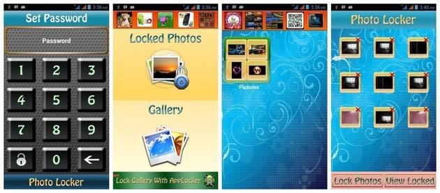 Esconder fotos com o Photo Locker