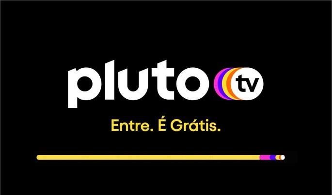 Logo do serviço de streaming de vídeo Pluto TV