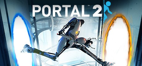 Imagem de divulgação do jogo Portal 2