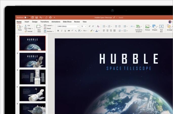 Imagem de divulgação do Microsoft PowerPoint