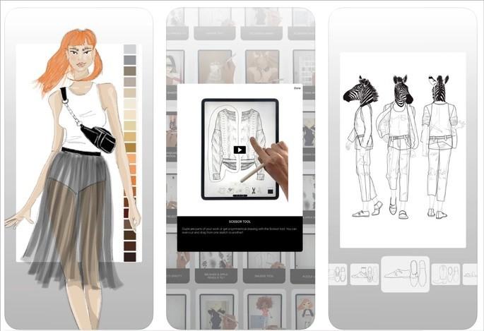 Imagem de divulgação do app Prêt-à-Template