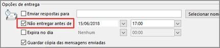 Programar envio email outlook