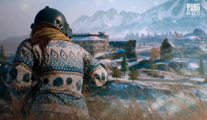 Imagem de divulgação do jogo PUBG Lite