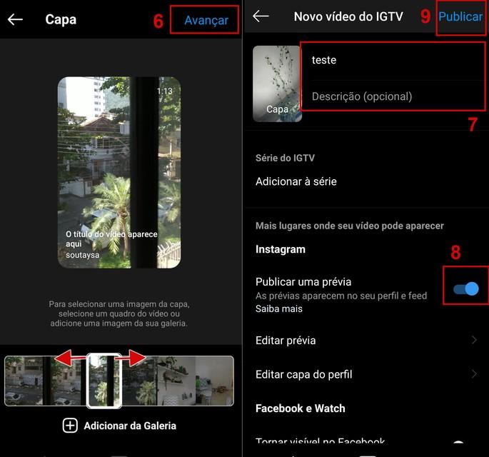 Como postar vídeo pelo app do IGTV