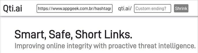 interface do site qti.ai