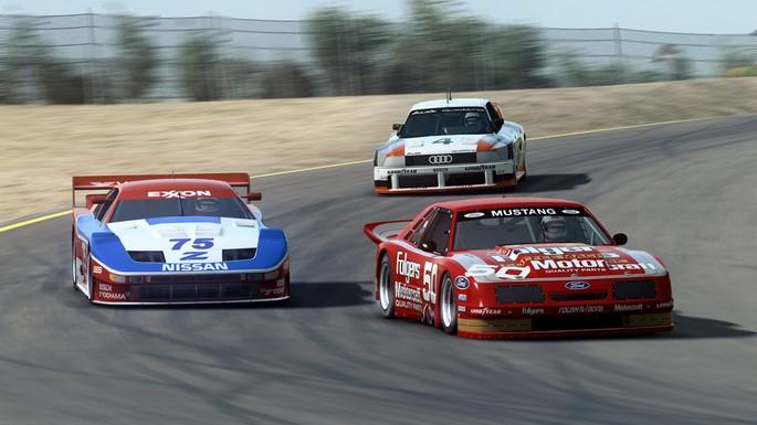 Imagem de divulgação do jogo de corrida de carros para PC RaceRoom
