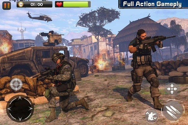 Jogo de guerra Real Commando Secret Mission