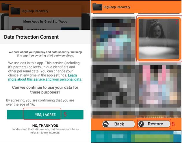 Como recuperar fotos excluídas