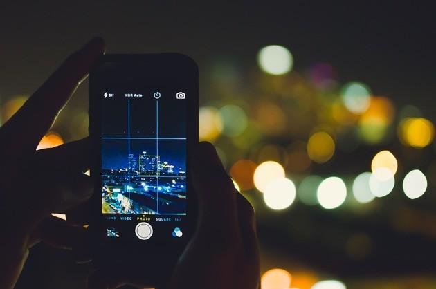 Regra dos Terços ao tirar fotos com o celular