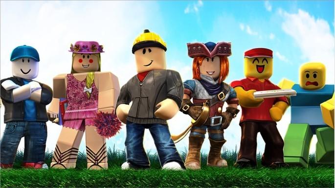 Imagem de divulgação do jogo Roblox