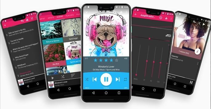 Imagem de divulgação do app Rocket Music Player