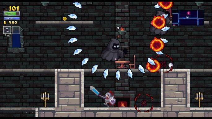 Imagem de divulgação do jogo Rogue Legacy