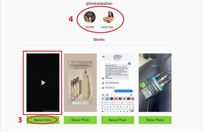 Como salvar stories do Instagram pelo PC