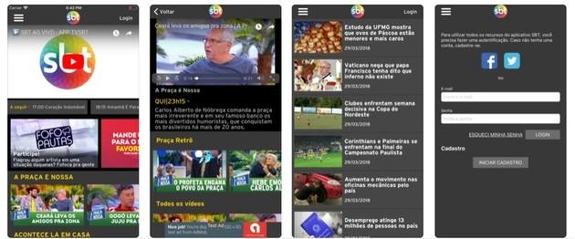 TV SBT - Aplicativos de Assistir TV