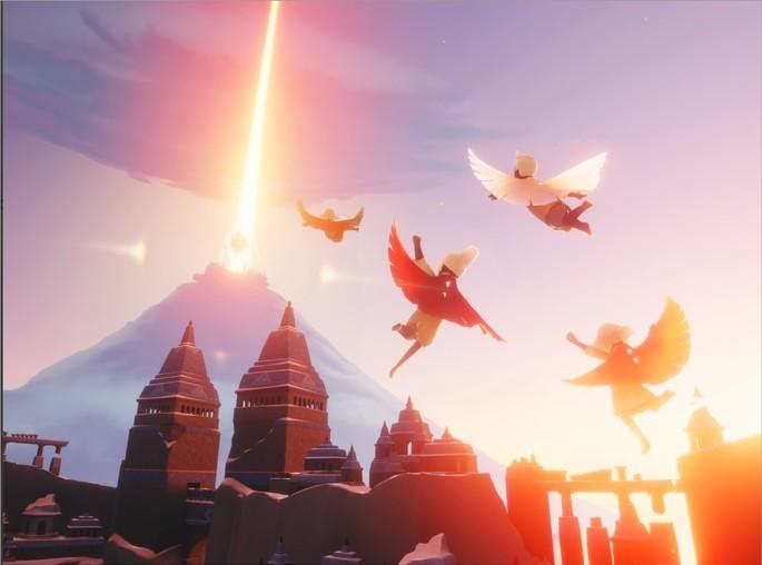 Imagem de divulgação do jogo Sky - Filhos da Luz