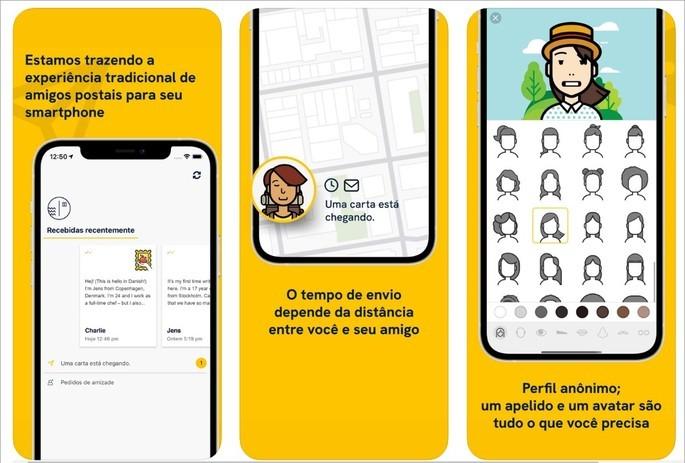 App Slowly permite trocar postais virtuais com pessoas de todo o mundo