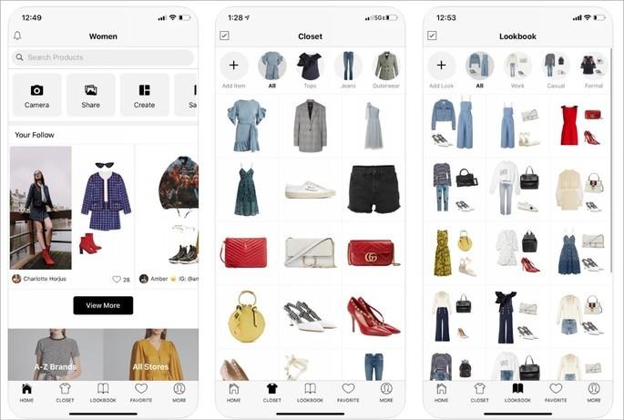Imagem de divulgação do app Smart Closet