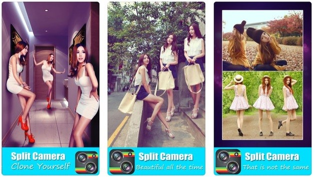 split camera ios