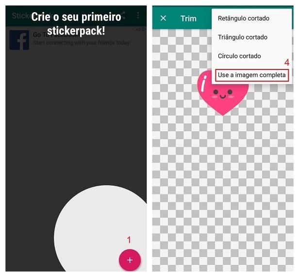 Fazer figurinhas no WhatsApp com o Sticker Studio