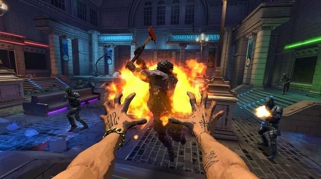 Jogo de realidade virtual do Esquadrão Suicida