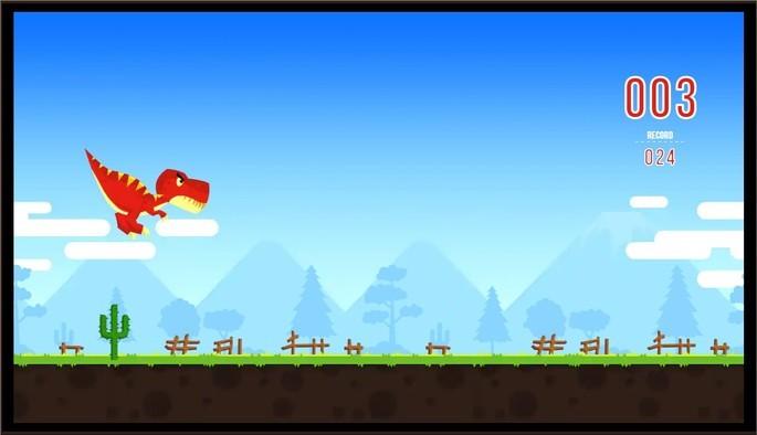 T-Rex Runner traz o jogo do dinossauro com gráficos melhores