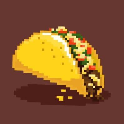 Logo do bot de jogo Taco Snack