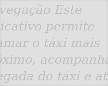 Aplicativos de Taxi