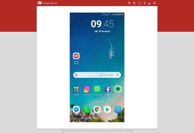 Espelhar tela do celular para o PC