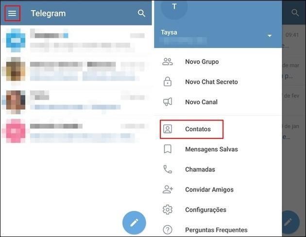 Como usar o Telegram no celular e na web