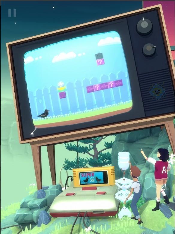 Imagem de divulgação do jogo The Gardens Between