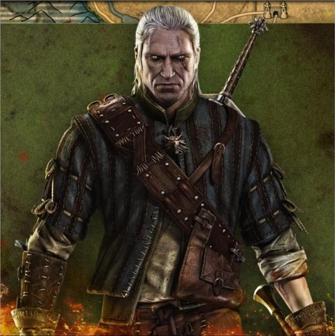 Imagem de divulgação do jogo The Witcher 2
