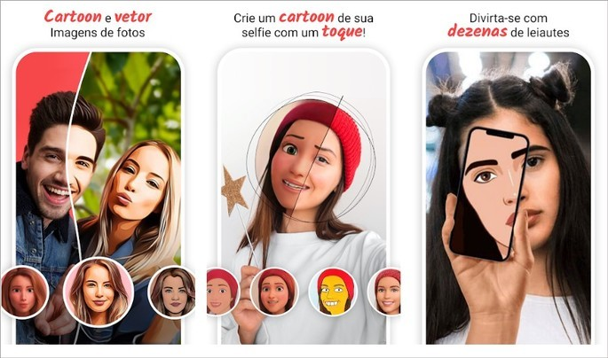 App ToonMe transforma fotos em estilo cartoon
