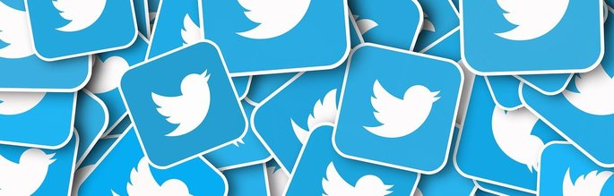 imagem com vários ícones do Twitter